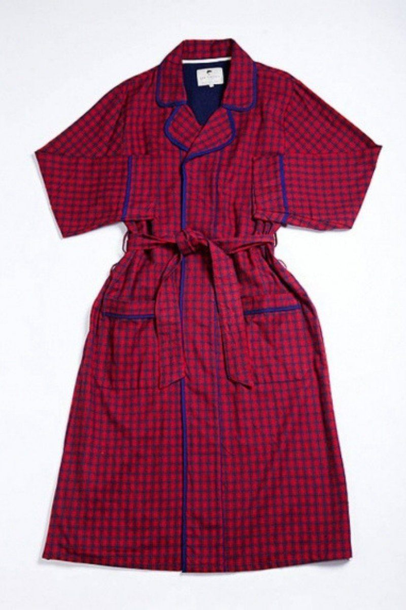 Nightwear Gift Set - Red Navy Check - Lee Valley Ireland - 3