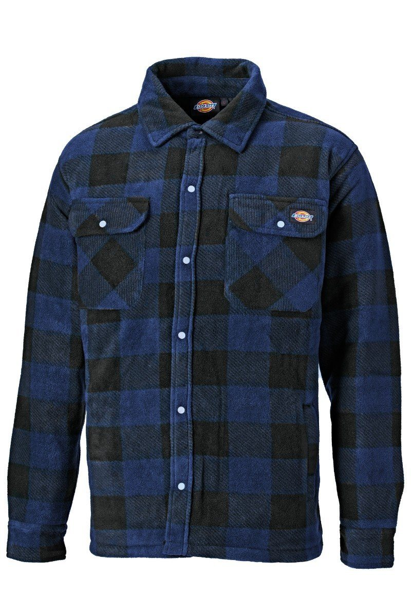 Quilted Fleece Shirt - Blue Check (WD151) - SH5000 - Lee Valley Ireland - 1