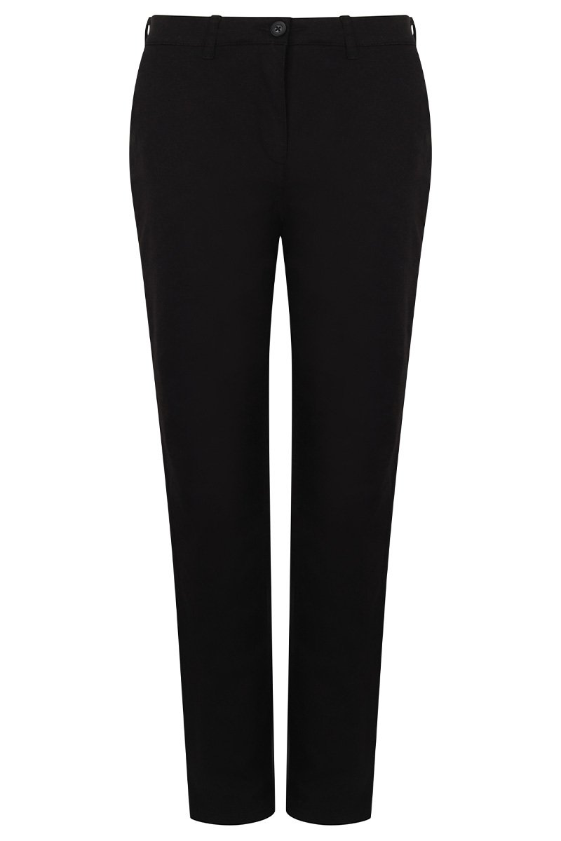Womens Chinos (HB651) Black 3