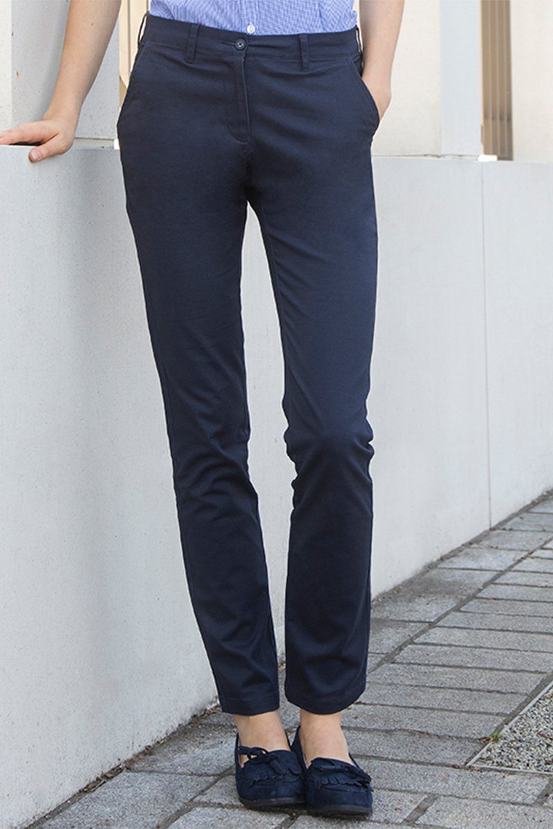 Womens Chinos (HB651) Navy 1