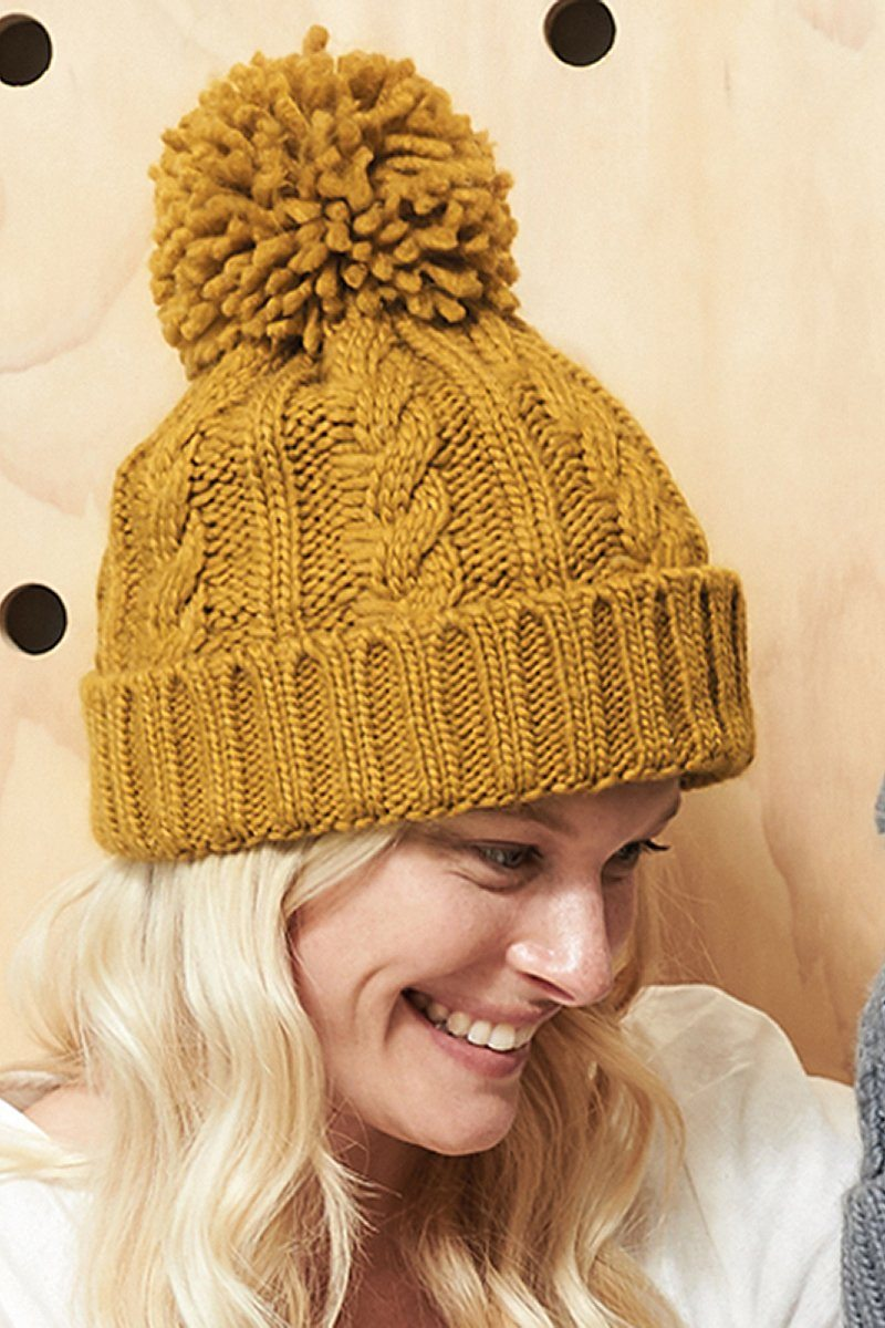 Cable Knit Beanie Hat (BC480) Ral Ralawise