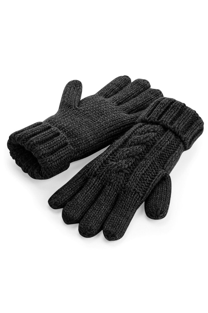 Cable Knit Gloves 4