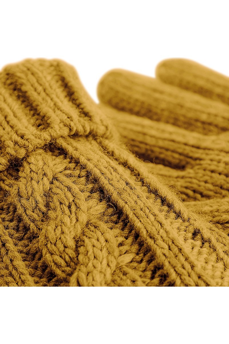 Cable Knit Gloves 3