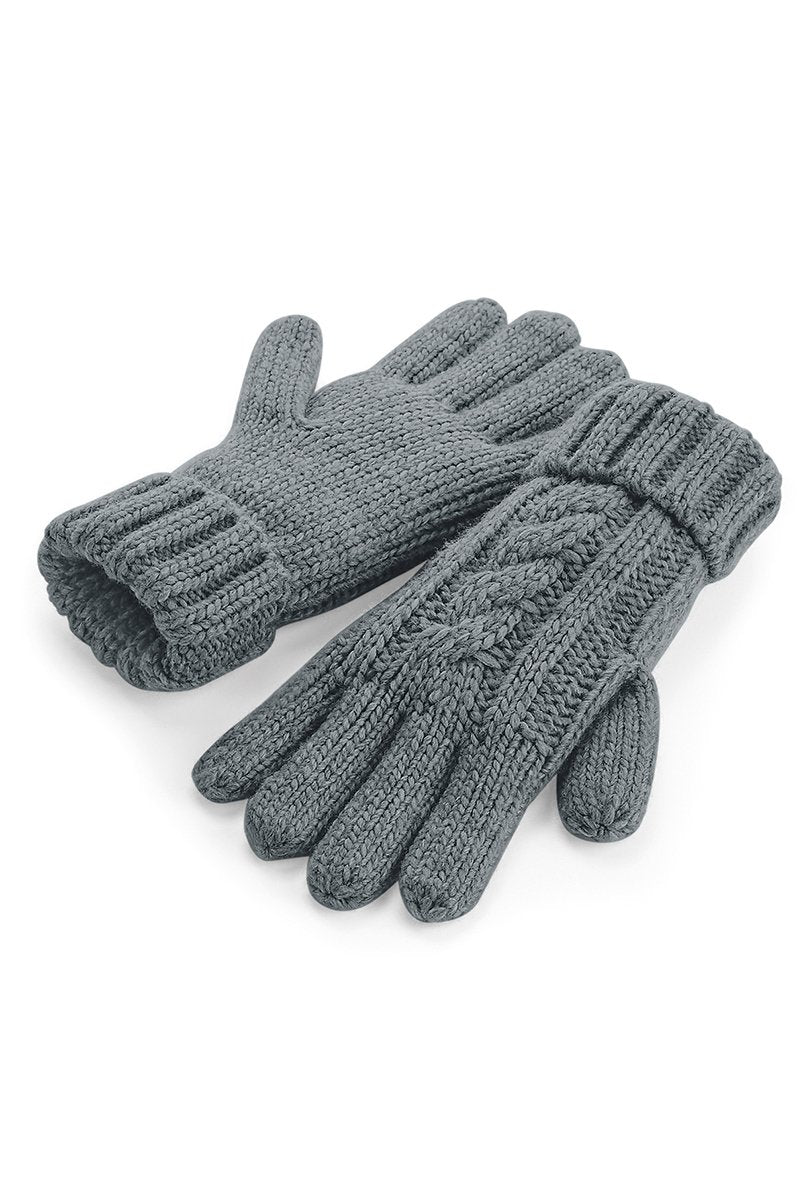 Cable Knit Gloves 5