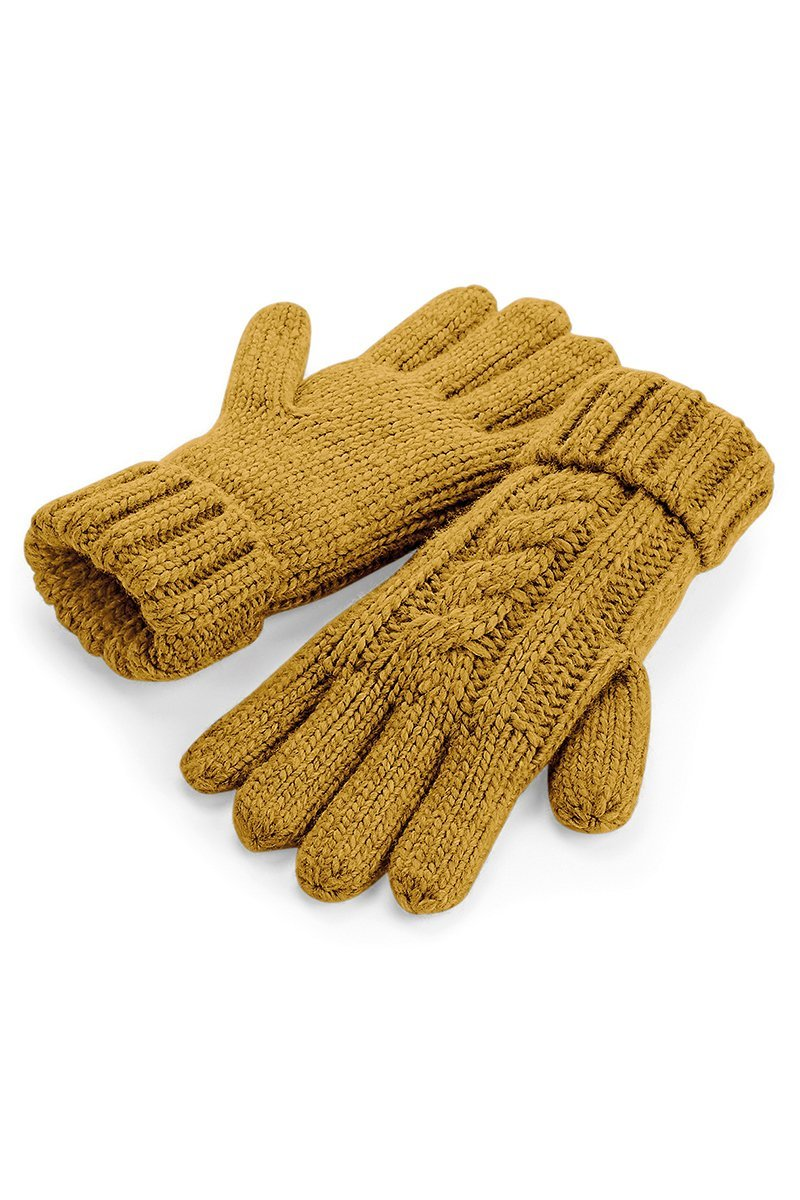 Cable Knit Gloves 2