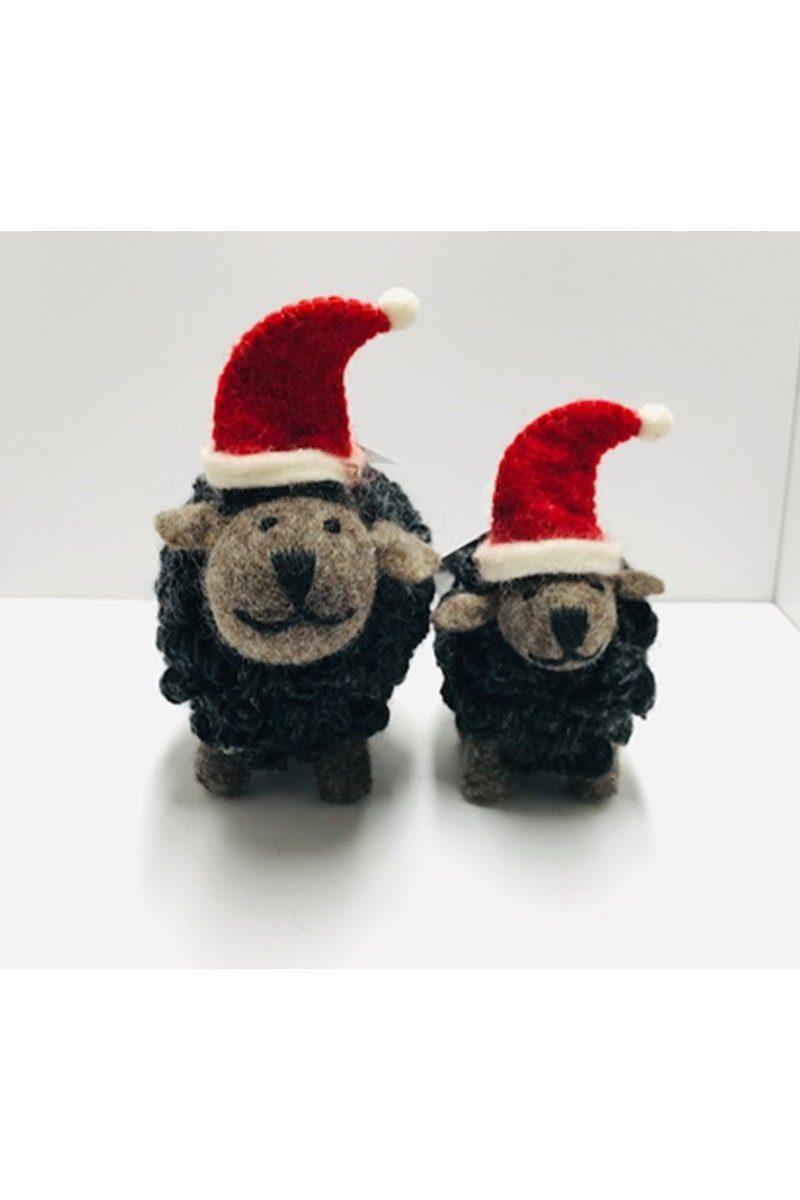 Erin Irish Christmas Sheep - Charcoal Irish Gift Erin Knitwear
