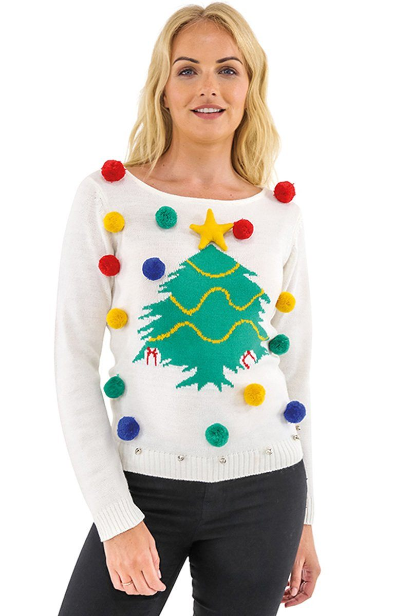 Novelty Christmas Tree Jumper (CJ102) Christmas Ralawise
