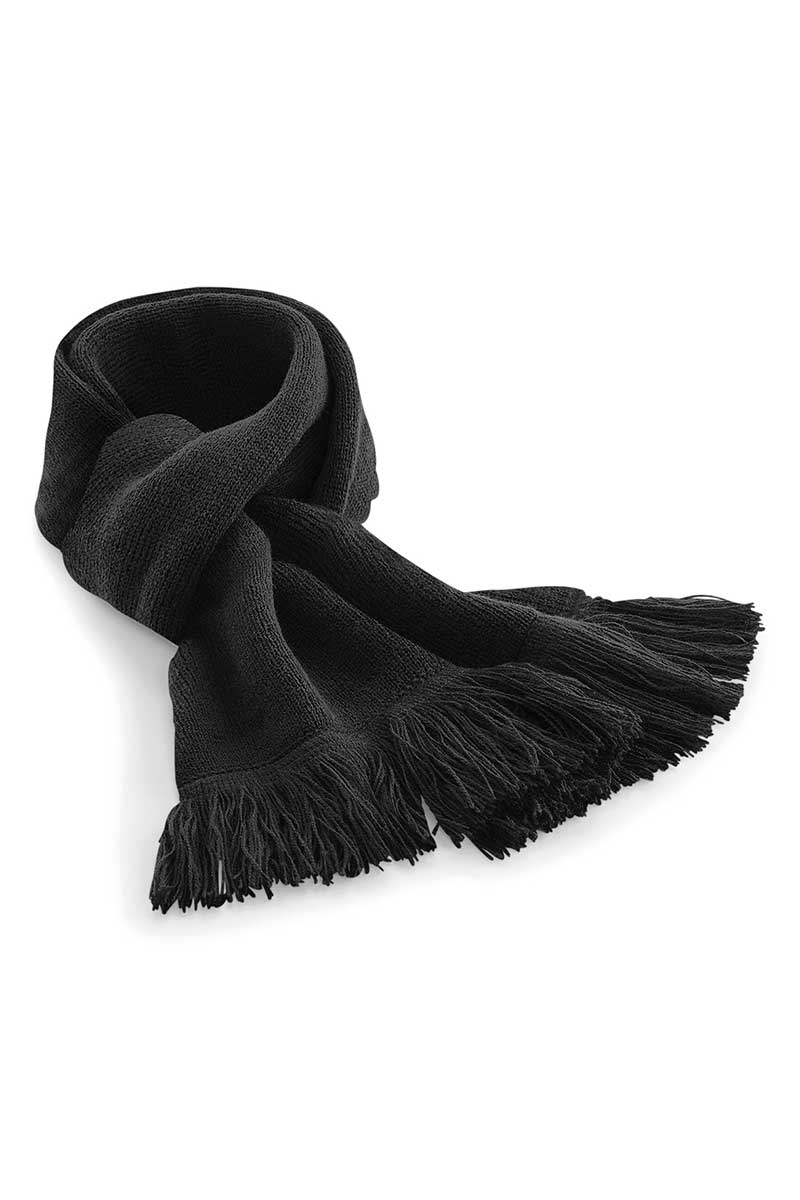 Classic Knitted Scarf (BC470) Scarf Ralawise Black