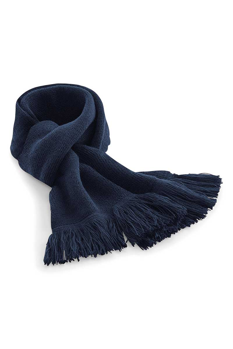 Classic Knitted Scarf (BC470) Scarf Ralawise Navy