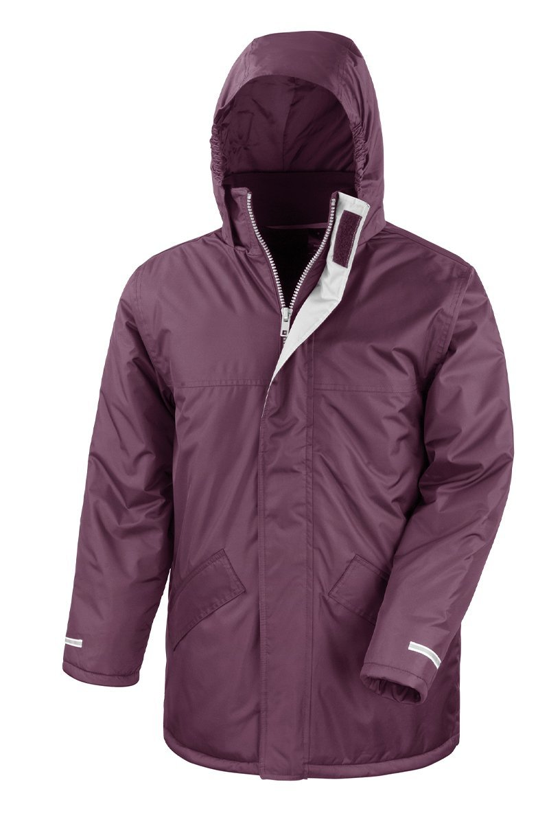 Core Winter Parka (R207X) Jackets Ralawise S Burgundy