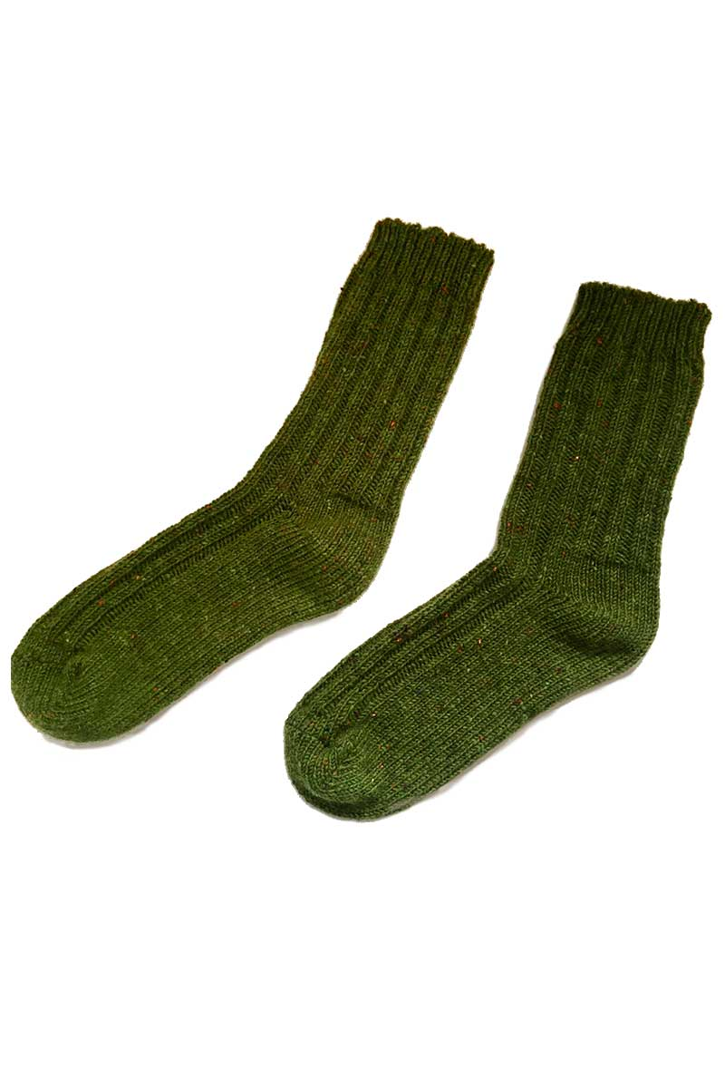 Country socks green 2