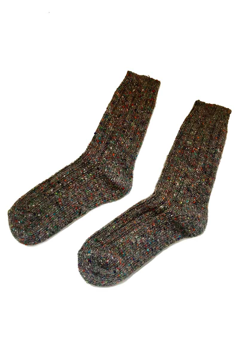 Irish Country Grey Socks 2