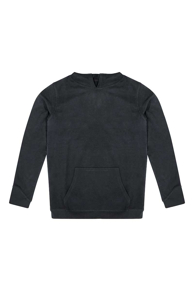 Organic Hooded Sweatshirt (EA041) Sweatshirt Ralawise S Black