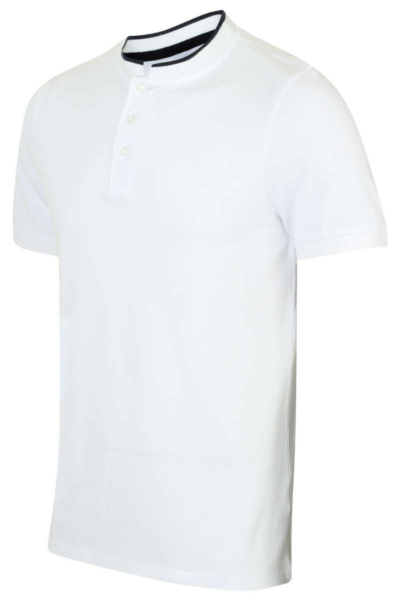 Grandfather Polo Shirt - FR244 - White - Lee Valley Ireland - 1