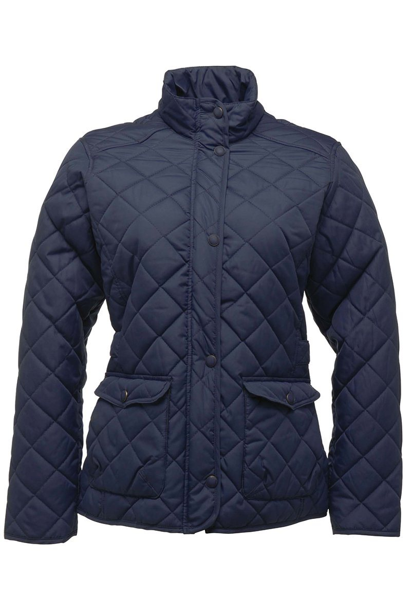 Ladies Quilted Jacket (RG067) Ral Ralawise M Navy
