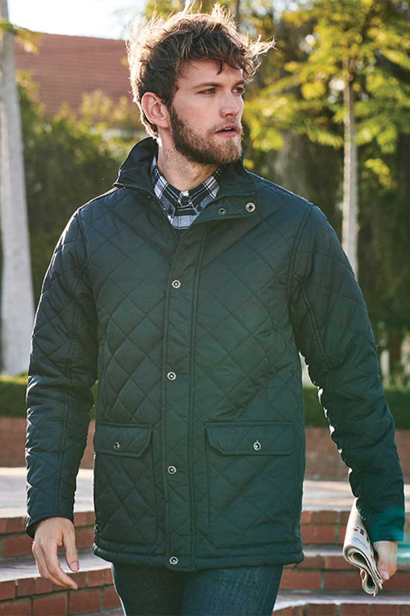 Mens Tyler Quilted Jacket 1