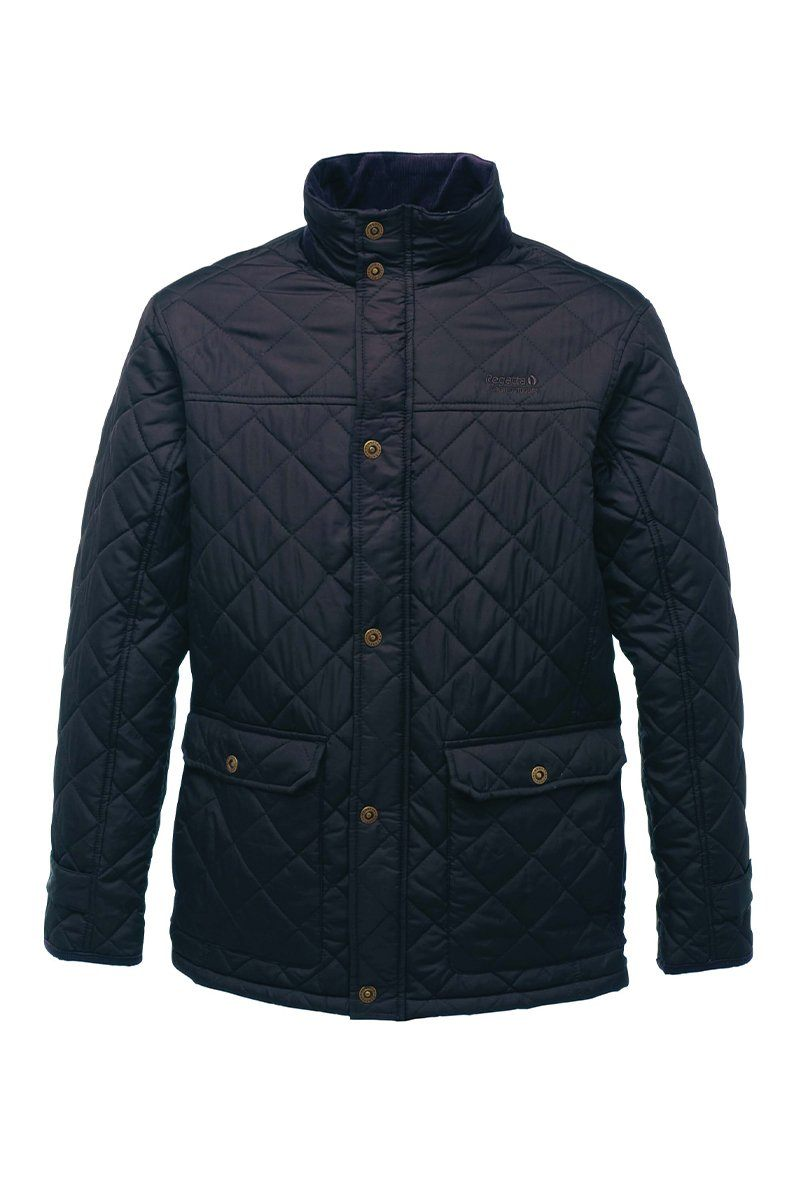 Mens Tyler Quilted Jacket (RG066) Jackets Ralawise S Navy