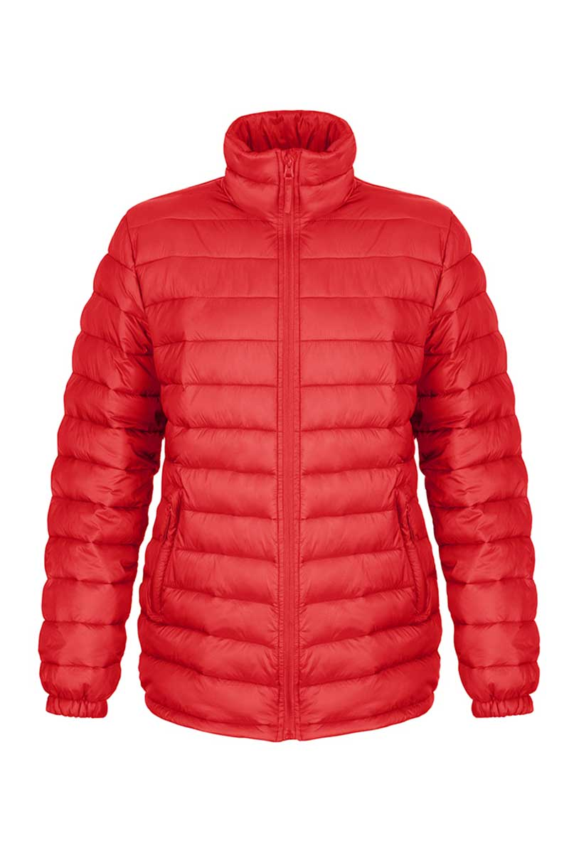 Womens Padded Glacier Jacket (R192F) Jackets Ralawise Red XS