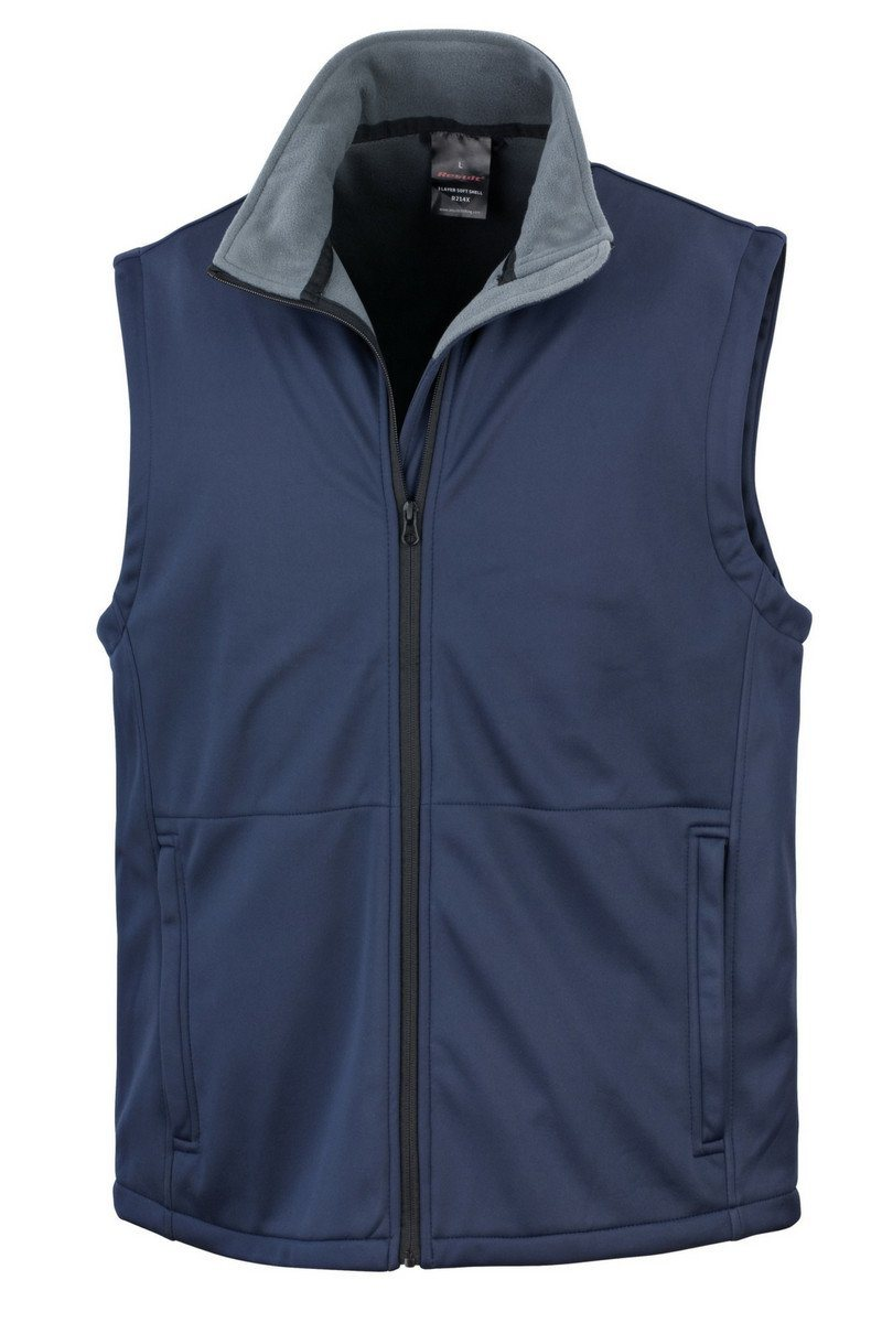 Core Softshell Gilet (R214X) - Navy - Lee Valley Ireland - 1