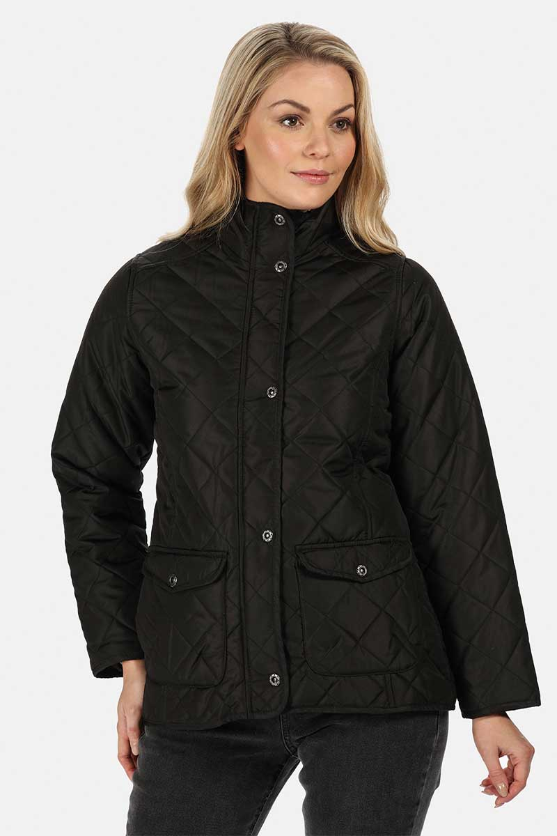 Ladies Quilted Jacket (RG067) Ral Ralawise