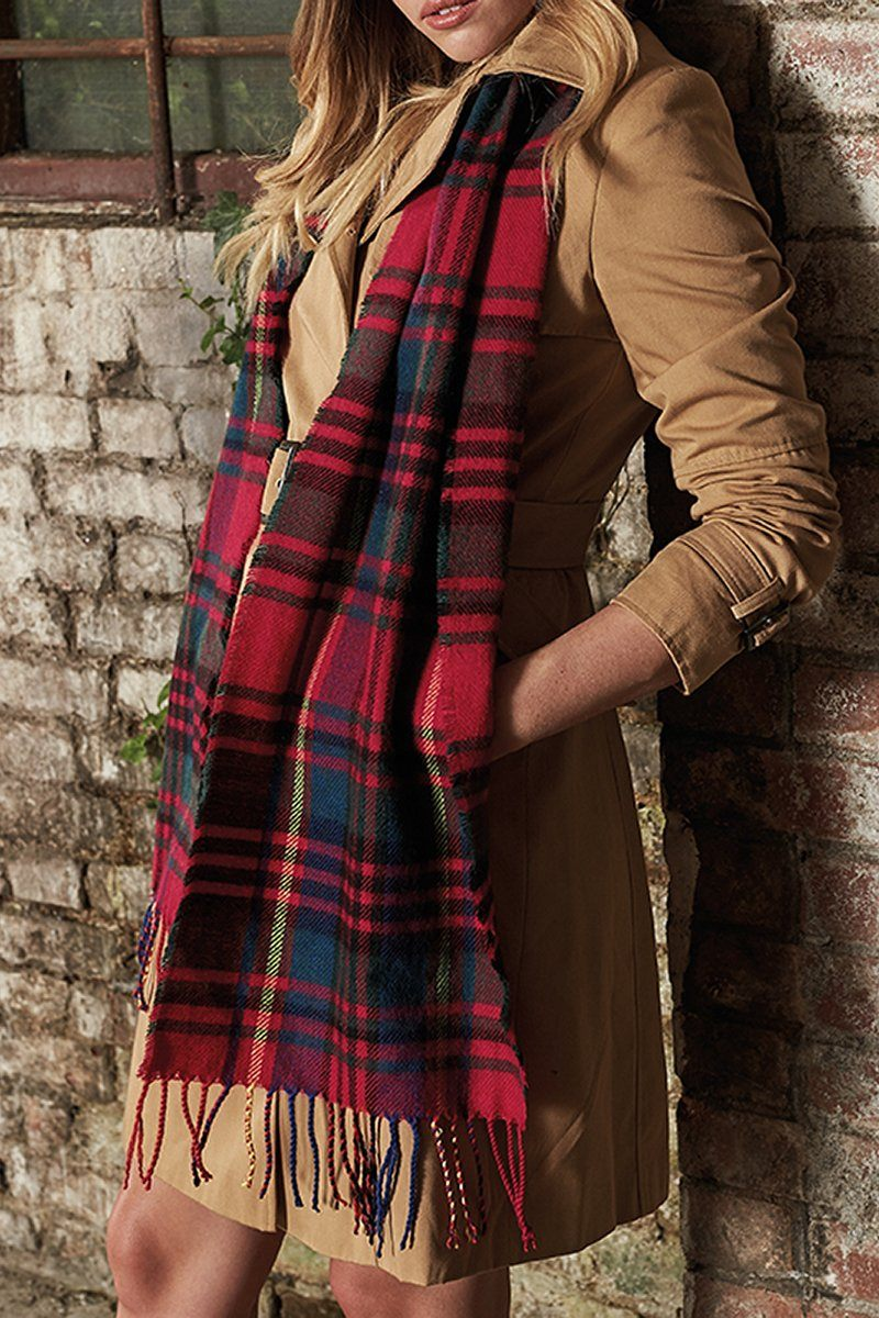 Classic Check Scarf -1