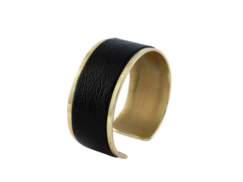 Thin Leather Cuff