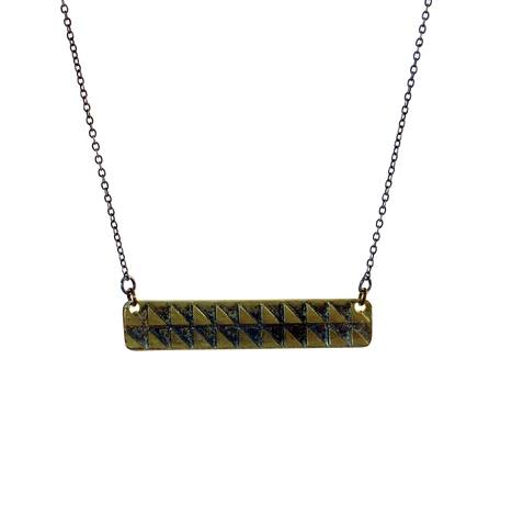 Horizontal Chocolate Bar Pendant