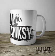 I Am Banksy Ceramic 11 0z. Coffee Mug