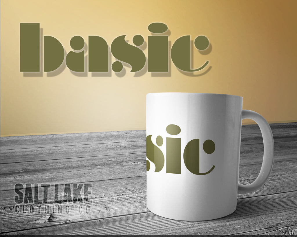 Basic Ceramic 11 0z. Coffee Mug
