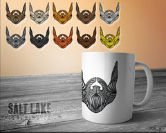 Beard Coffee Ceramic 11 0z. Coffee Mug