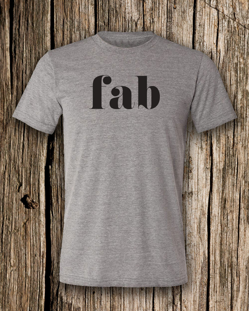 fab Triblend Crew Neck T-shirt