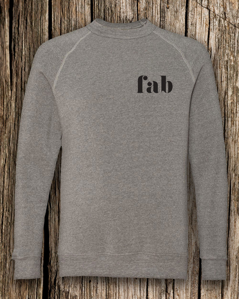 Fab Eco-Fleece Crewneck Sweatshirt