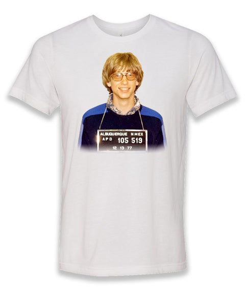 Bill Gates Mugshot T-shirt