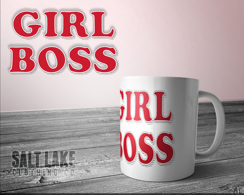 Girl Boss Ceramic 11 0z. Coffee Mug