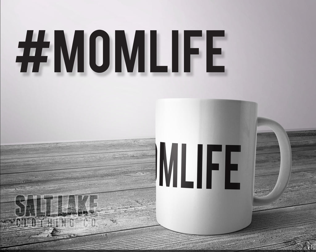 #MOMLIFE Ceramic 11 0z. Coffee Mug