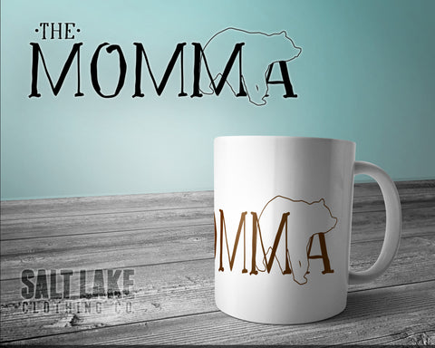 Momma Bear Ceramic 11 0z. Coffee Mug