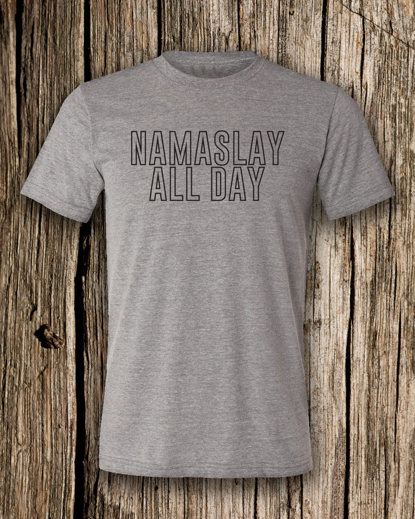 Namaslay All Day Triblend Crew Neck T-shirt