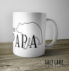 Papa Bear Ceramic 11 0z. Coffee Mug