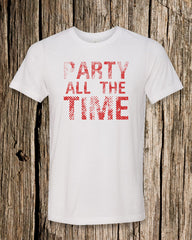 Party All The Time Triblend Crew Neck T-shirt