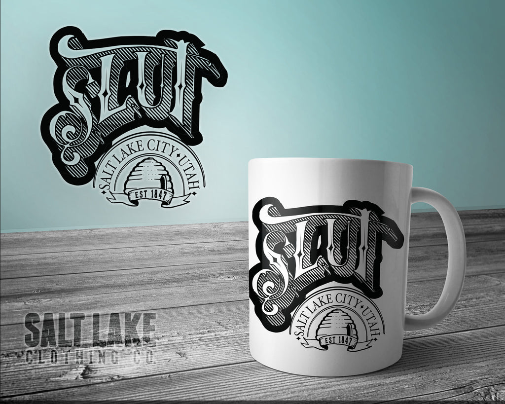SL.UT Ceramic 11 0z. Coffee Mug