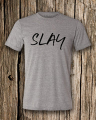 Slay Triblend Crew Neck T-shirt