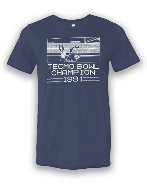 Tecmo Bowl Champion T-shirt