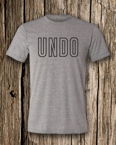 Undo Triblend Crew Neck T-shirt