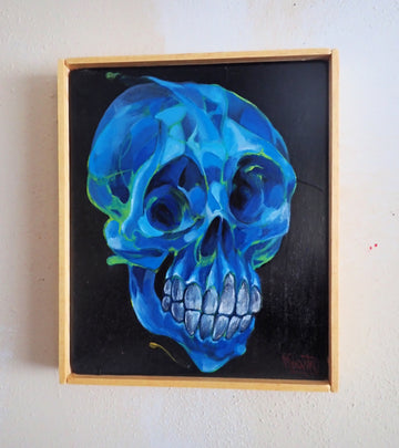 Blue bone ~ Original Painting
