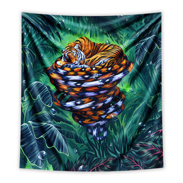 Cat Nap Tapestry