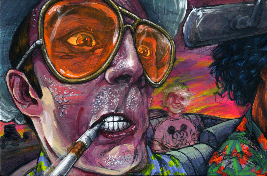 Fear & Loathing - Giclee canvas reproduction