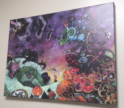 Wonderland - Giclee canvas reproduction