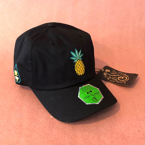 Pineapple Piff Grassroots/Black Ink Hat