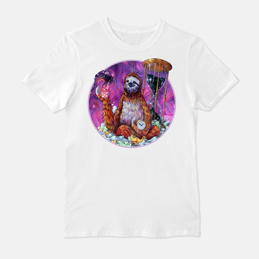 Time Master Poop Sloth - T-Shirt & Tank