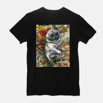 Power Pug - T-Shirt & Tank
